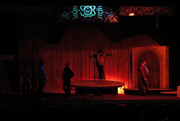osvetlenie divadla